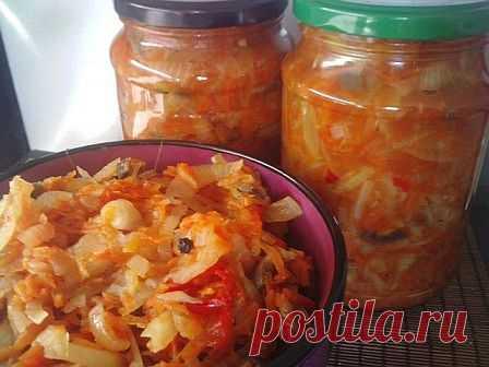 Рецепт заготовки грибной солянки на зиму