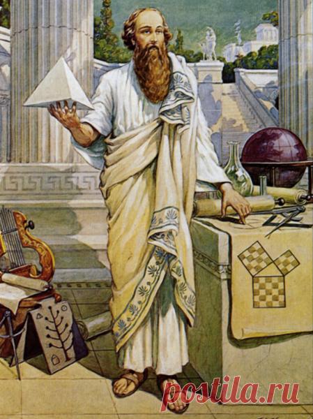 10 впечатляющих фактов, которых вы не знали о Пифагоре | Эллинизм: утерянное знание веков | Яндекс Дзен