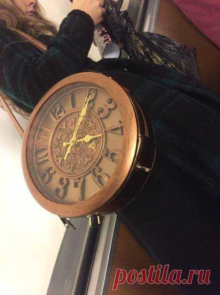 Сумка-часы Модная одежда и дизайн интерьера своими руками