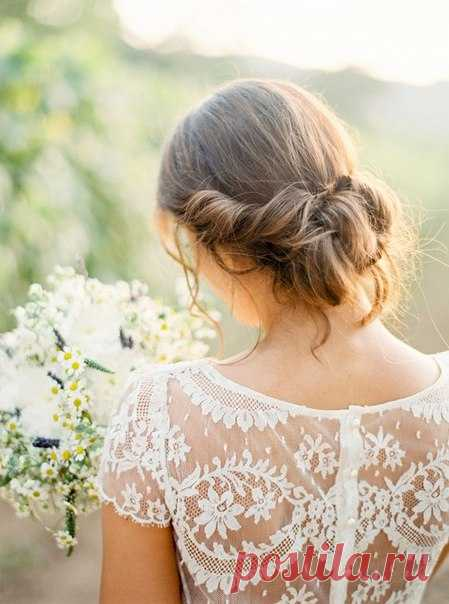 TOP-8 ideas of hairdresses for the summer bride \ud83d\udc96 Keep to yourself not to lose \ud83d\ude09