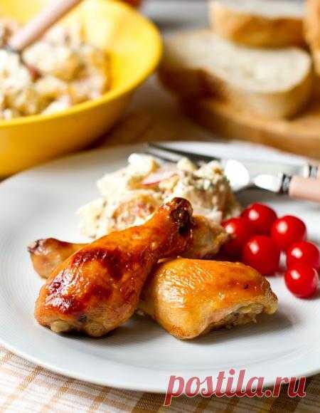 Пошаговый фото-рецепт куриных ножек в медово-горчичном маринаде | Вторые блюда | Вкусный блог - рецепты под настроение