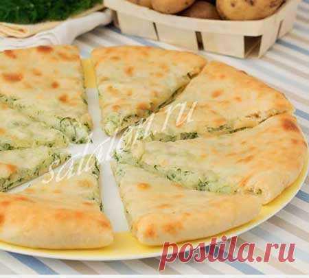 Осетинский пирог с картофелем и сыром - рецепт с фото  