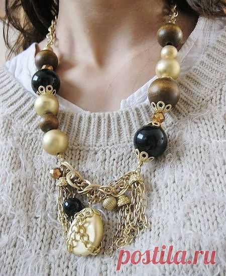 Купить Комплект Серёжки + Ожерелье . Купить стильные Комплекты. Модные Бижутерия купить