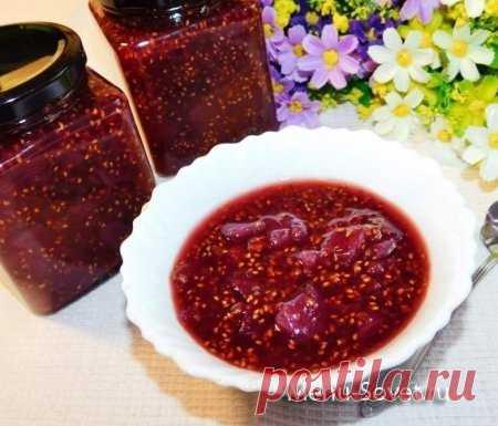 Рецепт вкусного варенья из дыни с малиной