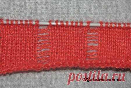 Мастер-класс по вязанию цветов спицами » Клуб-Нитка - вязание спицами и не только