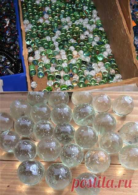 Загадка из детства: зачем все-таки стеклянные шарики.