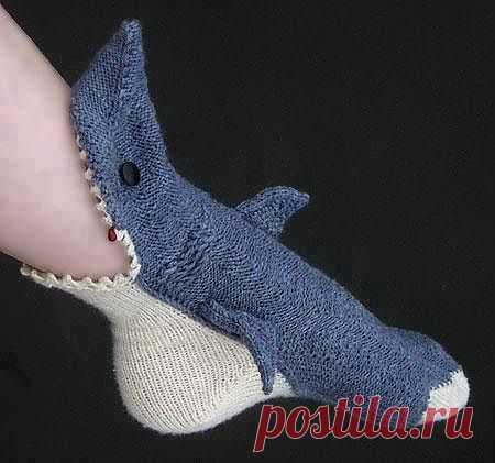 Опасные носочки / Вязание / Модный сайт о стильной переделке одежды и интерьера