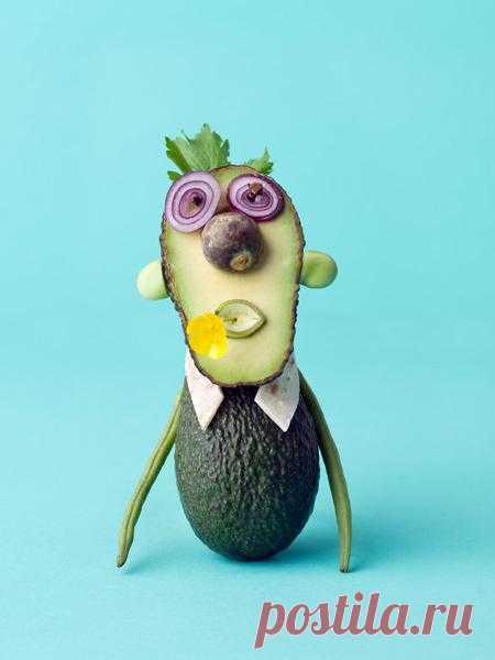 Овощной чудачок:)