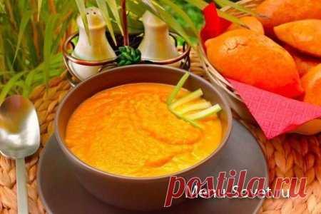 Рецепт морковного супа - пюре