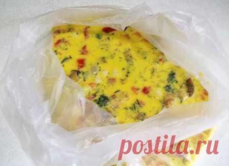 Как приготовить омлет и яйца в пакете