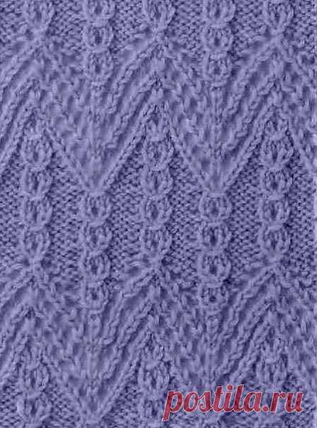 Вяжем по японским схемам | каталог вязаных спицами узоров
