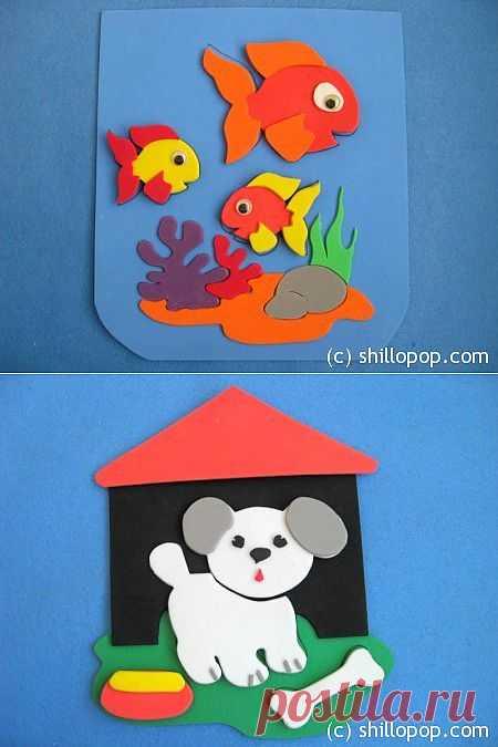 Развивающие игрушки от Shill O'POP » Пористая резина (пенка)