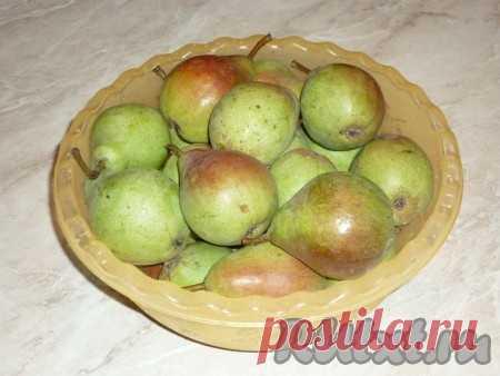 Янтарное варенье из груш дольками - рецепт с фото
