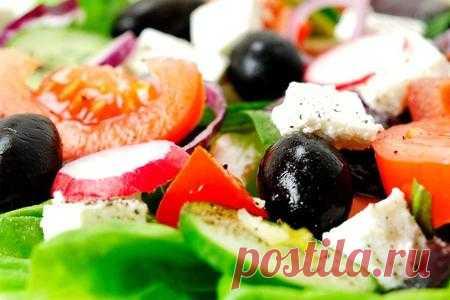 Греческий салат - классический рецепт | Вкусные кулинарные рецепты