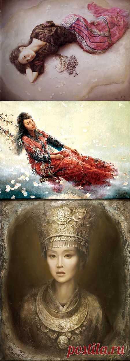 Китайский художник Zhao Chun (48 работ) » Картины, художники, фотографы на Nevsepic