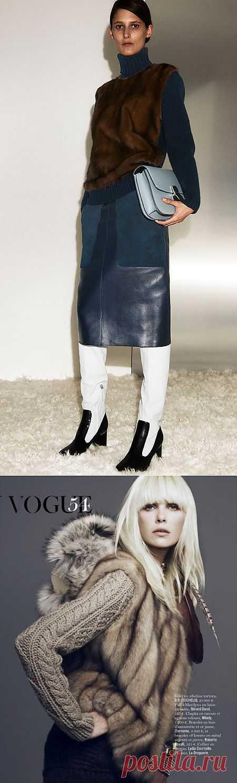 Меховой свитер / Свитер / Модный сайт о стильной переделке одежды и интерьера