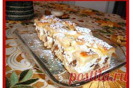 Творожная решётка—túrós rácsos – пошаговый рецепт с фотографиями