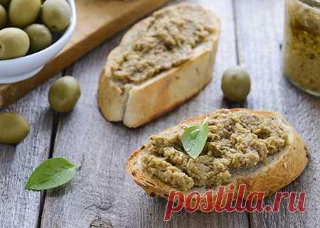 Оливковая паста с грецкими орехами