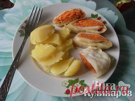 Острые овощные голубцы — рецепт пошаговый от Лиги Кулинаров