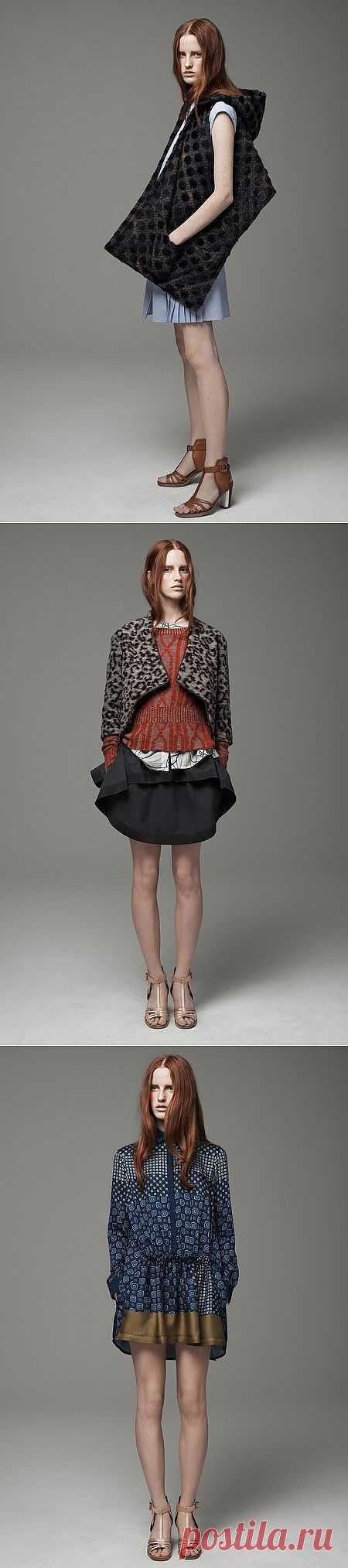 Кое-что из Thakoon Addition Pre-Fall 2013 (трафик) / Лукбуки / Модный сайт о стильной переделке одежды и интерьера
