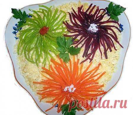 Вкусные рецепты красивых салатов