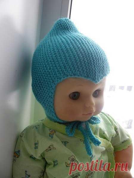 Милая шапочка для малыша