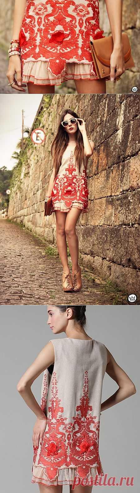 Платье Choies с необычной фактурой / Фактуры / Модный сайт о стильной переделке одежды и интерьера