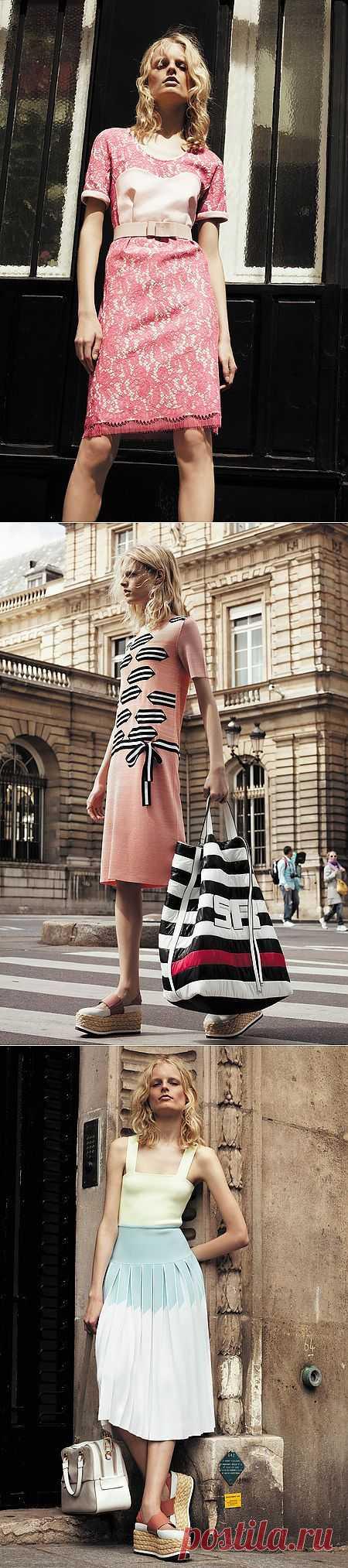 Sonia Rykiel Resort 2014 / Лукбуки / Модный сайт о стильной переделке одежды и интерьера