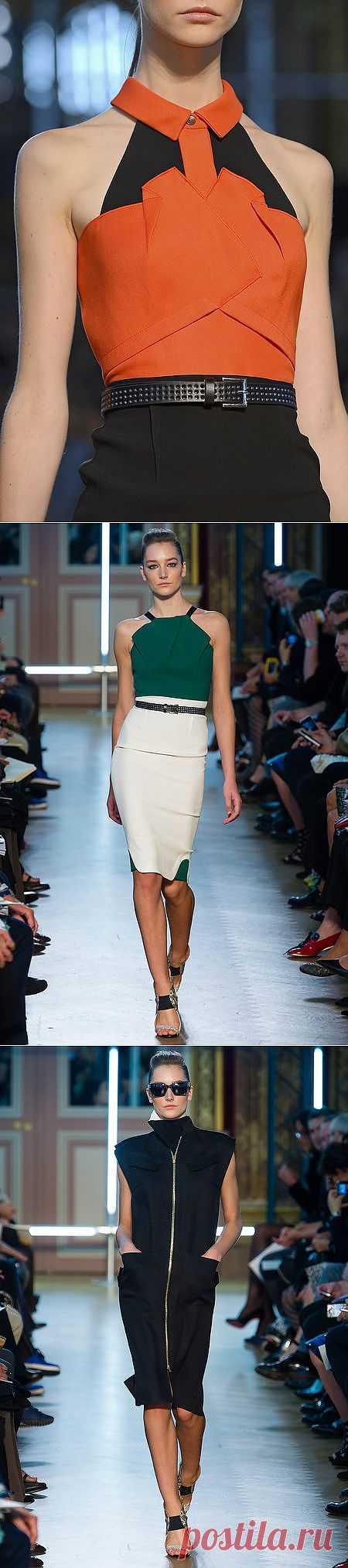 Оригами Roland Mouret (трафик) / Дизайнеры / Модный сайт о стильной переделке одежды и интерьера
