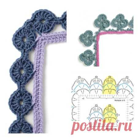 Free Crochet Border Pattern and Giveaway! Every Which Way Crochet Borders Blog Tour - Petals to Picots