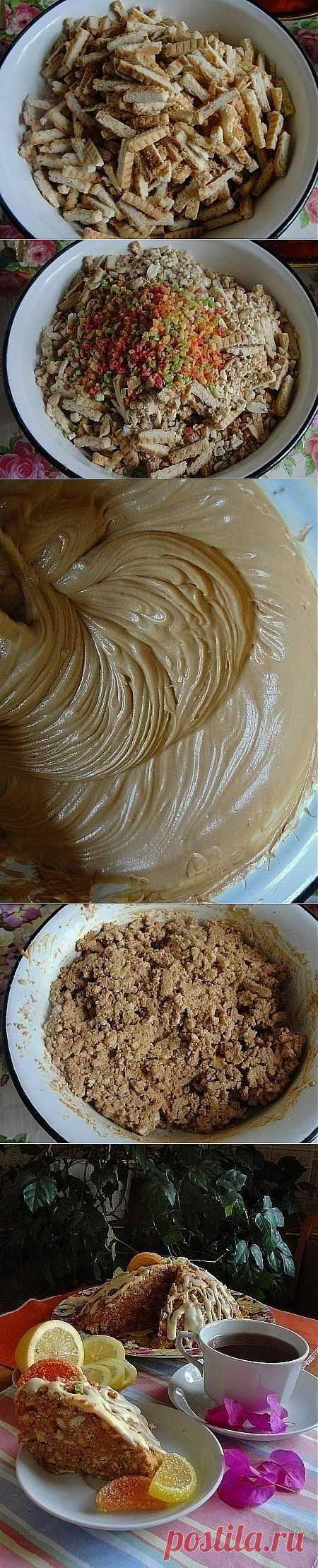 Быстрый тортик - Вы такой еще не пробовали!   Готовим вместе