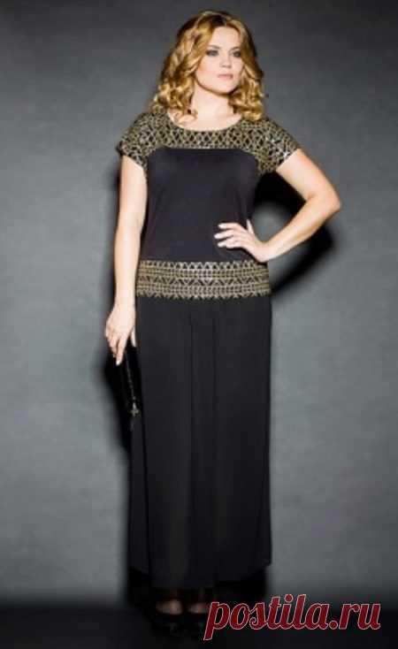 8af0474ad6f Нарядные вечерние платья больших размеров для полных женщин (58 фото ...