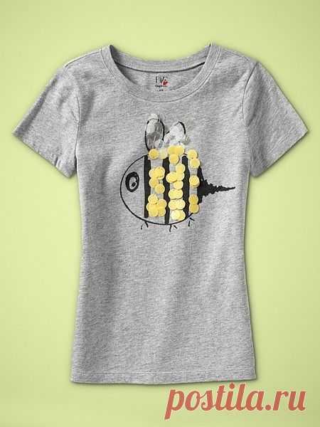 Пчёл / Рисунки и надписи / Модный сайт о стильной переделке одежды и интерьера