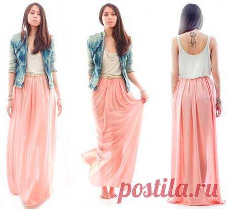 9aaf81159afadf3 Как сшить модную длинную летнюю макси юбку в пол своими руками |