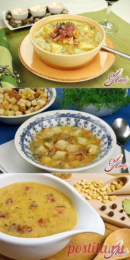 Гороховый суп: рецепт из давних времен