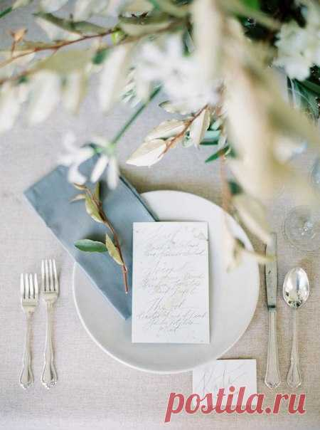 TOP-8 ideas for spring laying of a dinner \ud83c\udf3f