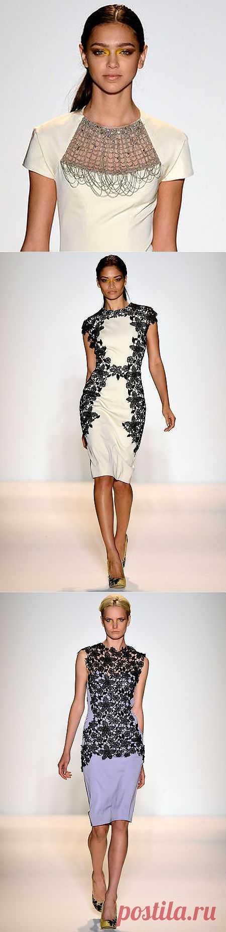 Lela Rose - Весенняя коллекция 2013 (Трафик) / Дизайнеры / Модный сайт о стильной переделке одежды и интерьера