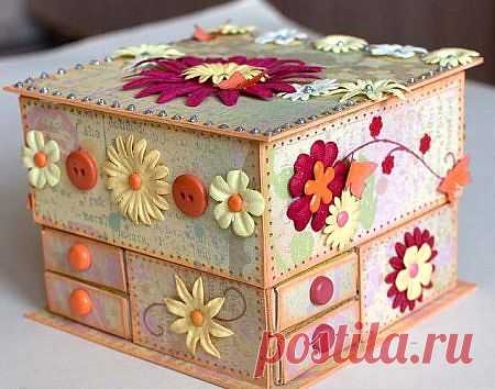 Komodik for trifles MK \/ Work with paper \/ PassionForum - master classes in needlework