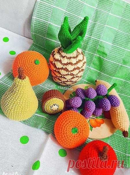 Вязаная еда knit_viazanie