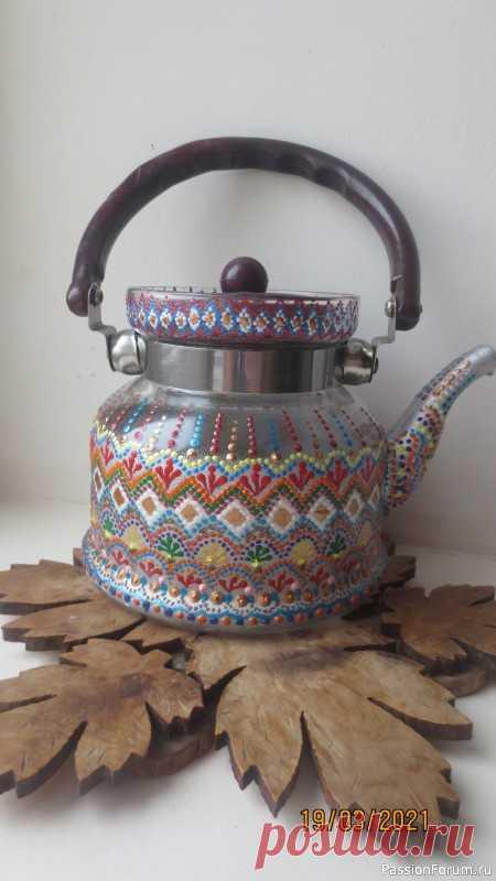 А вот ещё заварной чайничек