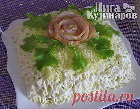 Салат Особенный — рецепт пошаговый от Лиги Кулинаров