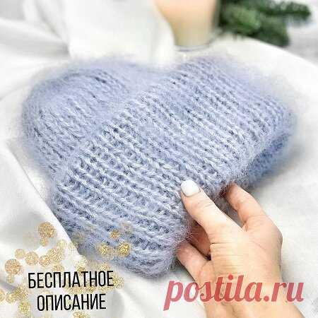 11 современных Instagramных зимних шапок спицами. | Галина Knitting | Яндекс Дзен