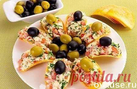 CHEESE SNACK WITH APPLES. - Simple recipes of Овкусе.ру
