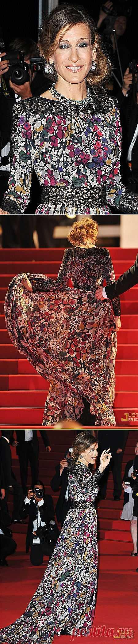 Платье Сары Джессики Паркер / Звездный стиль / Модный сайт о стильной переделке одежды и интерьера