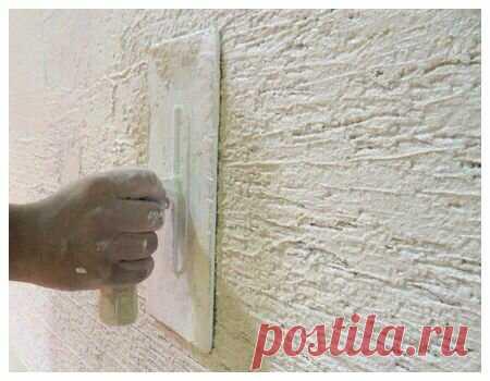 Как нанести декоративную штукатурку на стены самостоятельно? | Полезности для дома | Яндекс Дзен