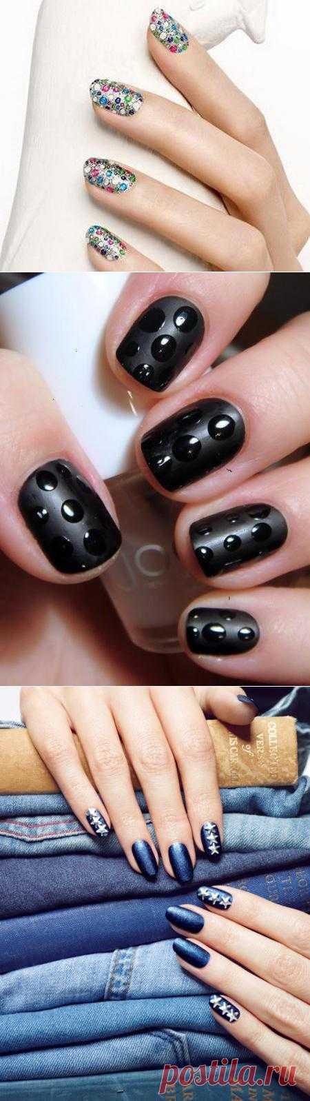 Еще больше дизайна и граффического рисунка на ногтях
