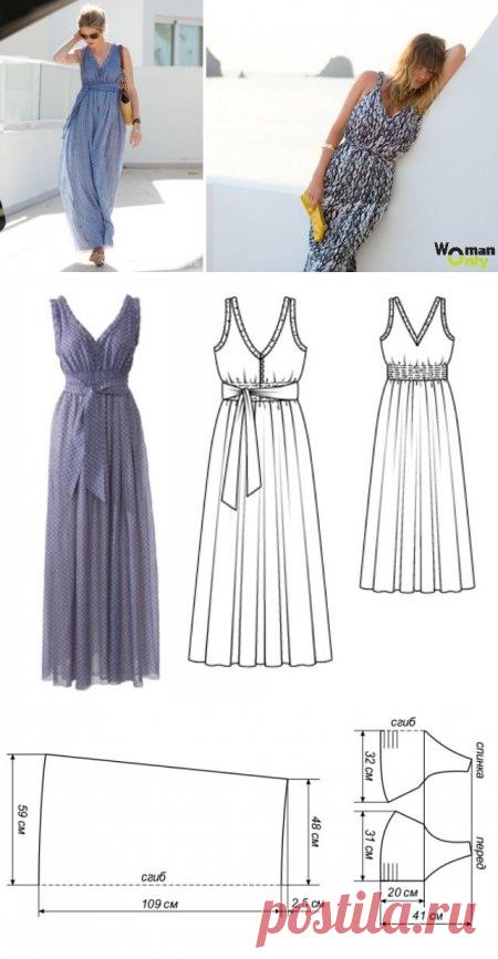 bf6d8b616c1 Как сшить греческое платье  выкройка платья в греческом стиле ...