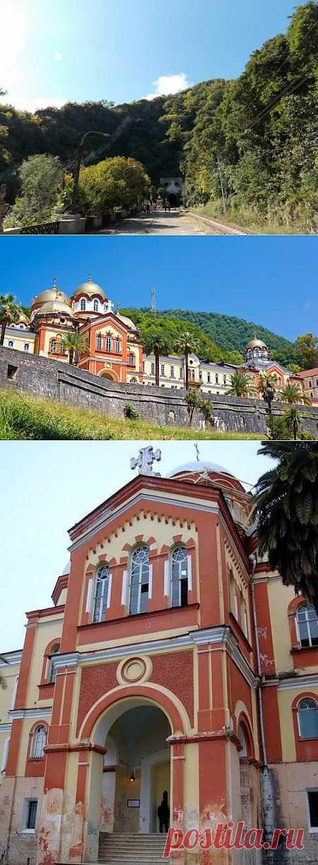 Новоафонский мужской монастырь в Абхазии | VeniVidi.ru