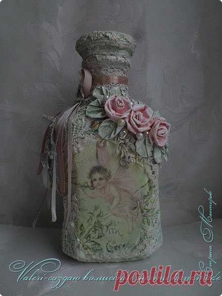 La decoración de la botella en el estilo shebbi el chic, el vídeo MK | el País de los Maestros