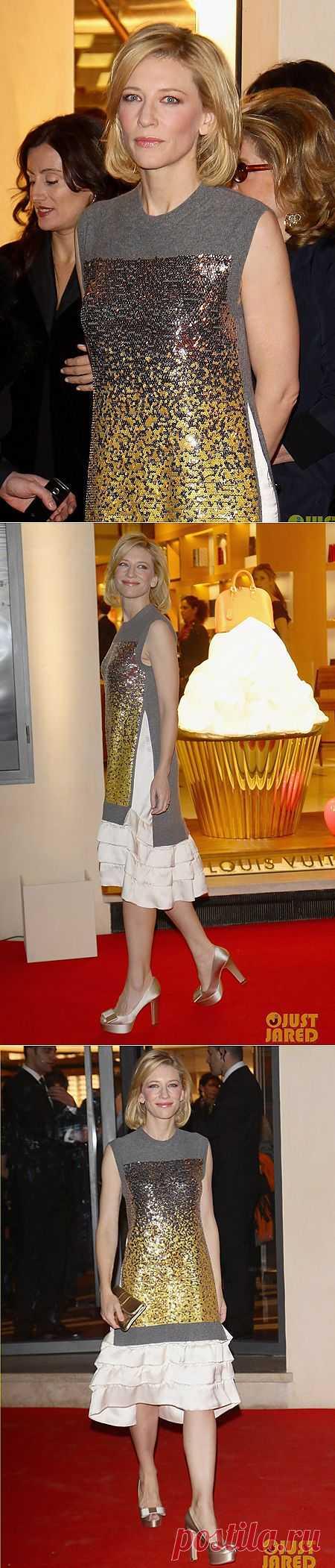 Очень странное платье Кейт Бланшетт / Звездный стиль / Модный сайт о стильной переделке одежды и интерьера